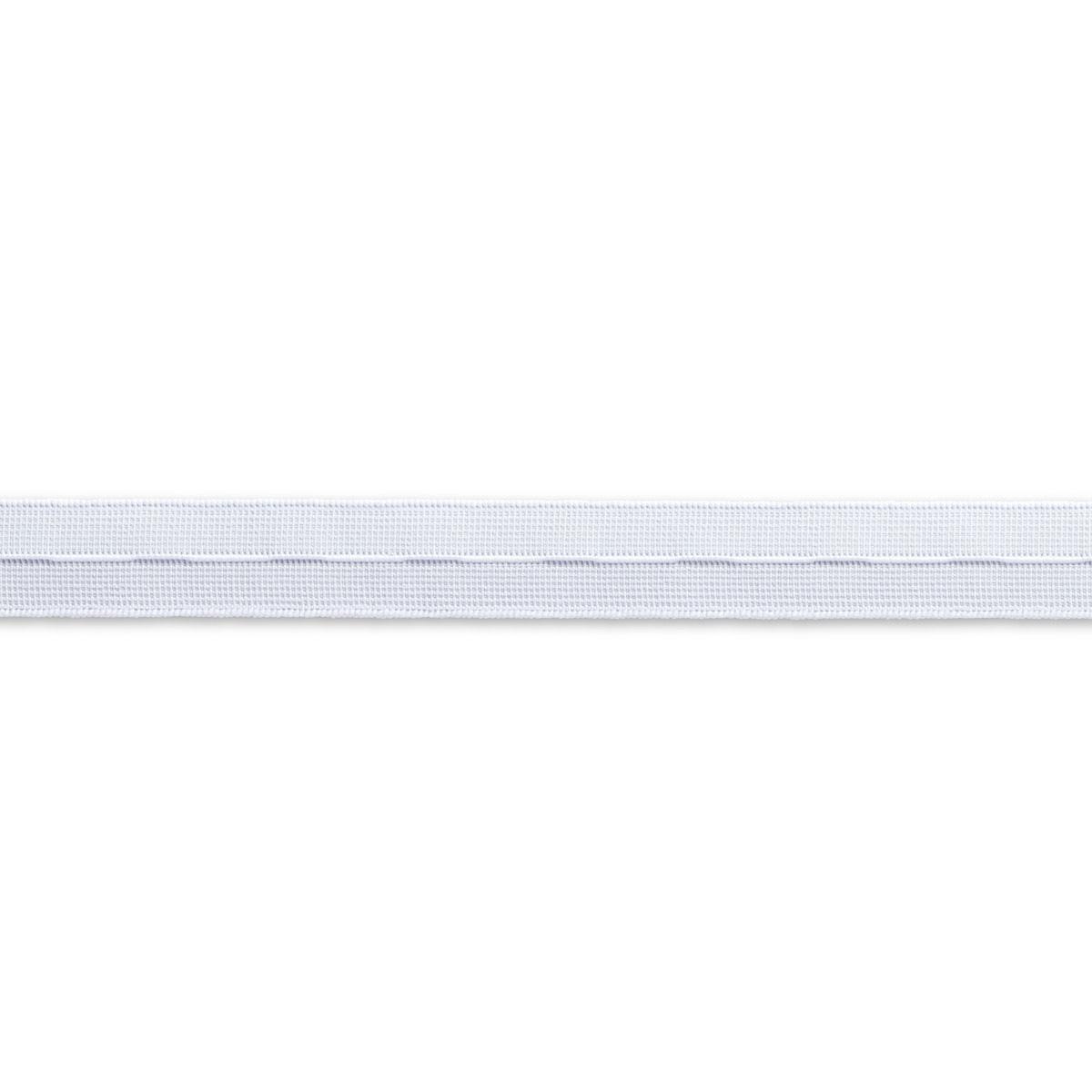 956052 Эластичная лента с прорезными петлями тканая 18мм*10м белый цв. Prym