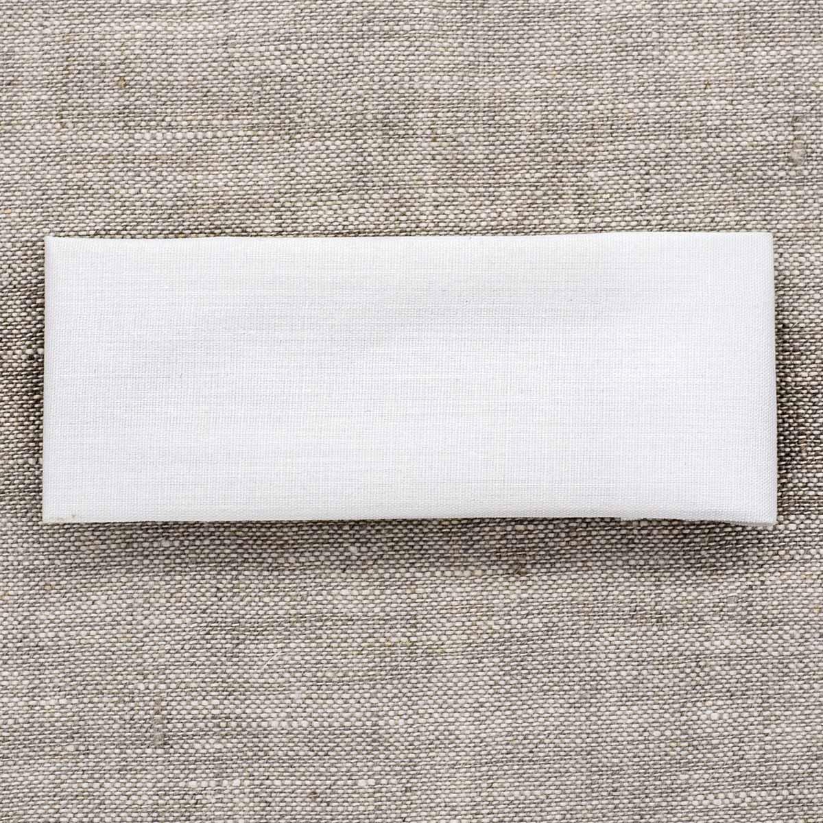 Ткань для заплаток, 27см*7,5см, белая 810250, Hobby&Pro