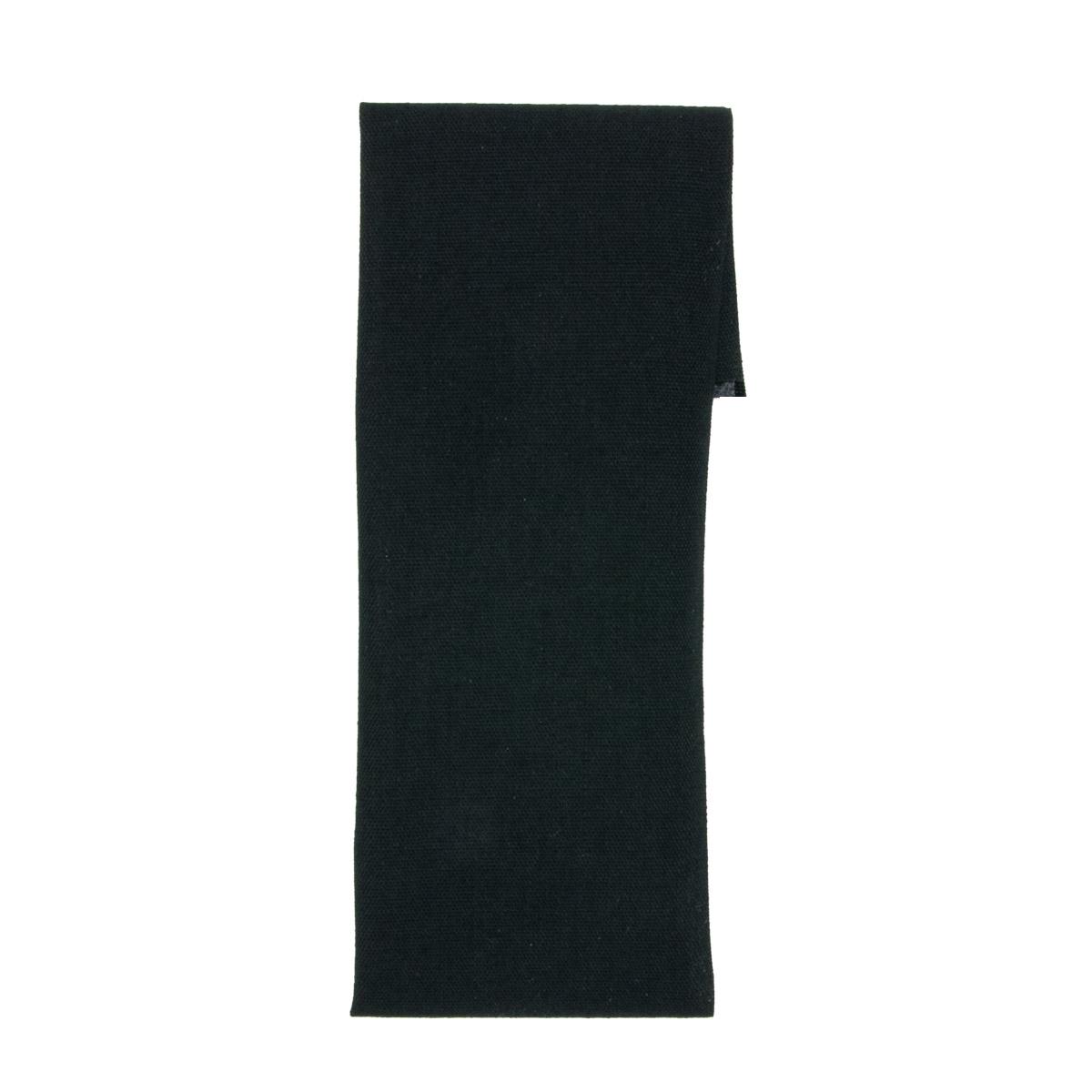 Ткань для заплаток, 27см*7,5см, черная 810251, Hobby&Pro