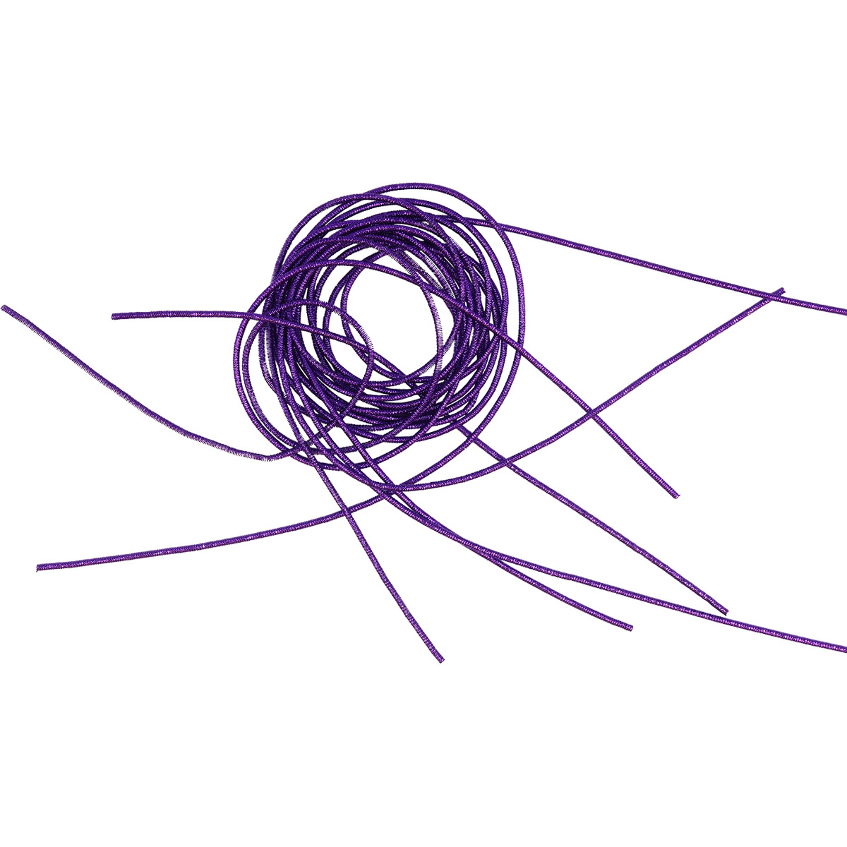 КЯ006НН1 Канитель металлизированная Фиолетовый 1 мм 5 гр. +/- 0,1 гр.