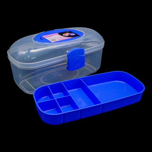 930528 Контейнер для хранения с вынимаемым вкладышем, 28.5*15.4*13.1см Hobby&Pro