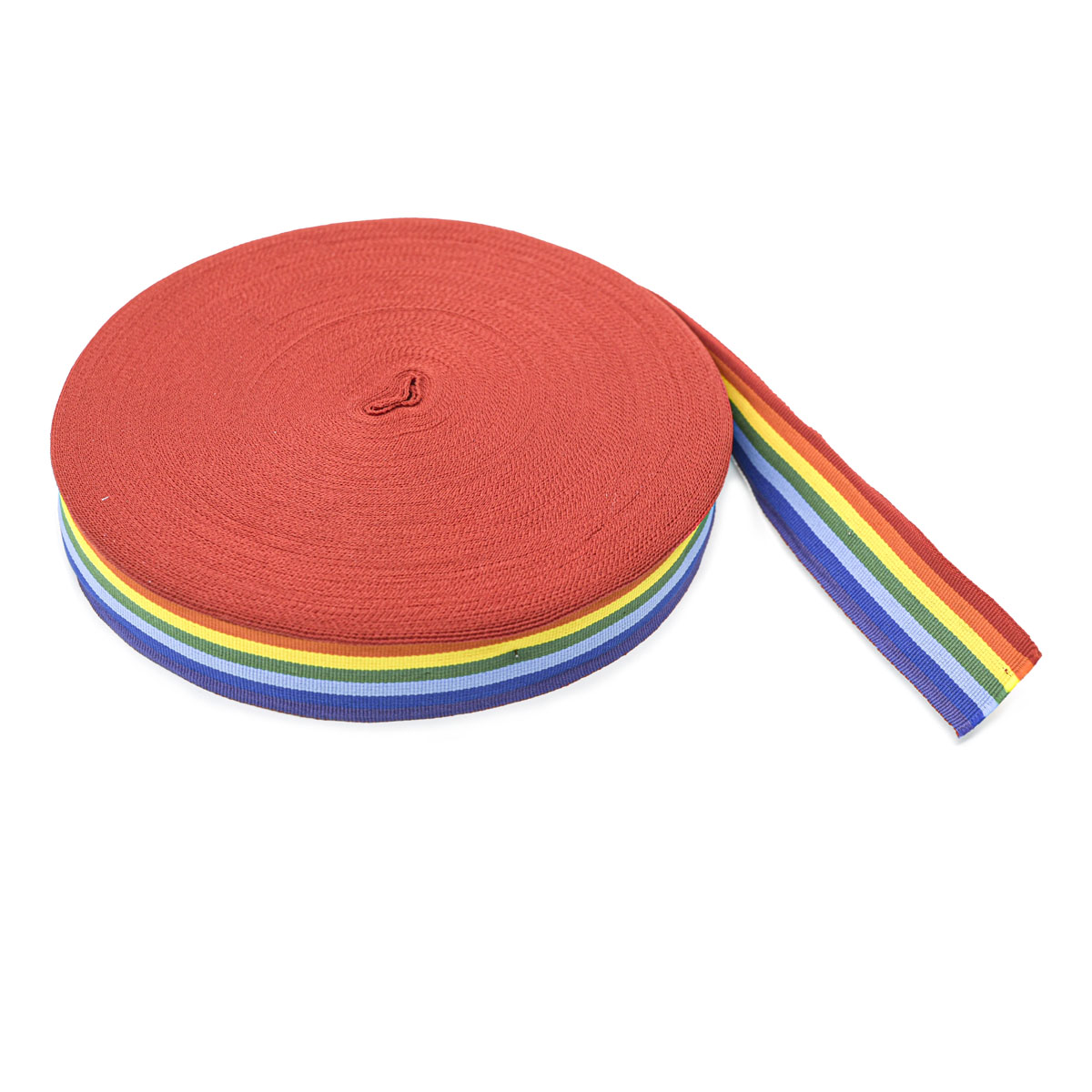 4364 Лента разноцветная (для медалей) 27мм*50м