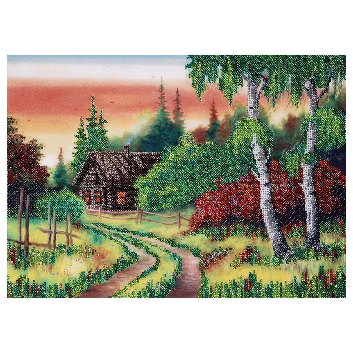 """Набор для вышивания бисером """"Летний вечер"""" 38х28 см, БН-3403, Hobby&Pro"""
