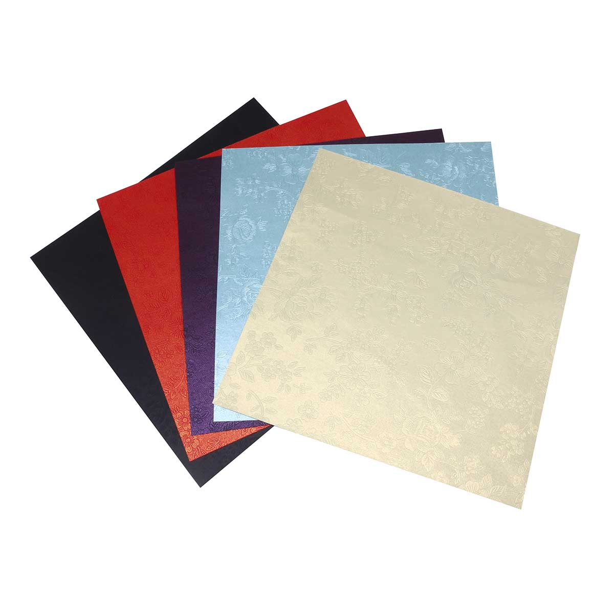 Текстурированная бумага для скрапбукинга 'Камелия', 120 гр., 20*20 см, 'Астра'
