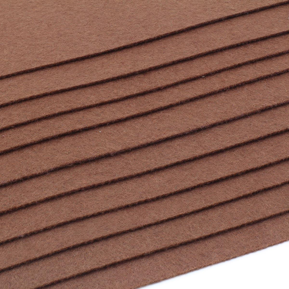 Фетр листовой Астра, 1,0мм, 180 гр, 20х30см, 10 шт/упак