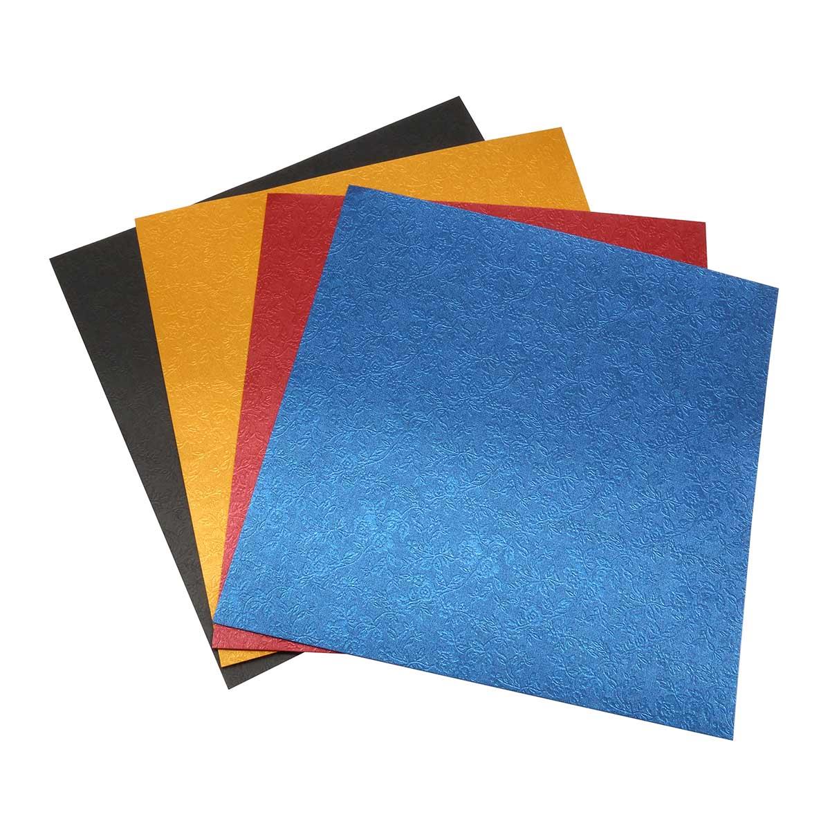 Текстурированная бумага 'Камелия', 120 гр., 20*20 см, 'Астра'