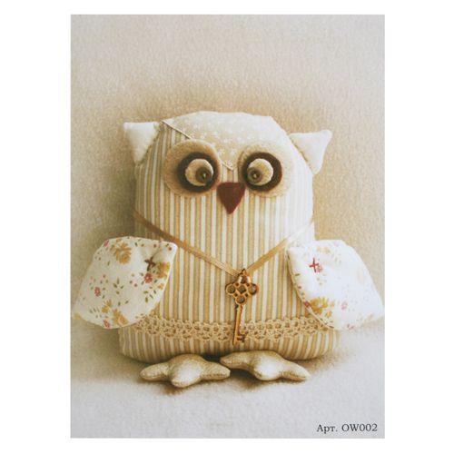 """OW002 Набор для изготовления текстильной куклы 21 см """"OWLS Story""""(Ваниль)"""