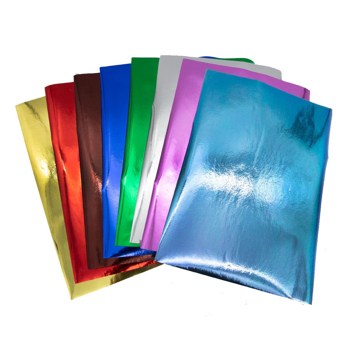 Бумага 'Металлик', 80 гр, упак./8 листов