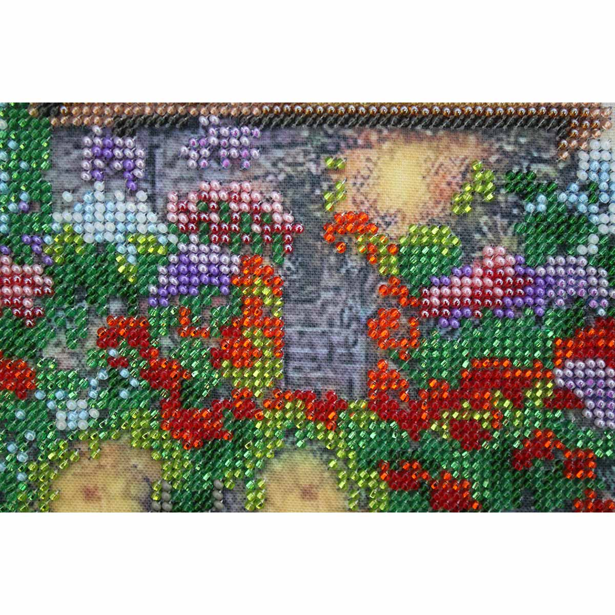 """Набор для вышивания бисером БН-3130 """"Цветочный мыс"""", 25х26 см, Hobby&Pro"""