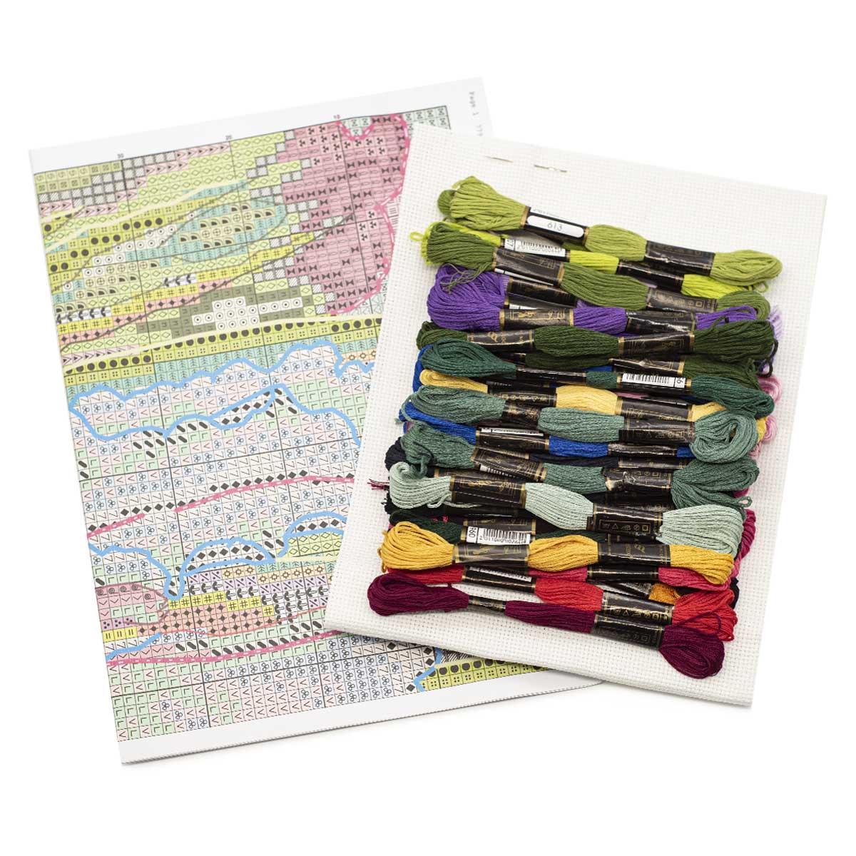 "Набор для вышивания 779 ""Ирисы"", 17х27 см, Hobby&Pro"