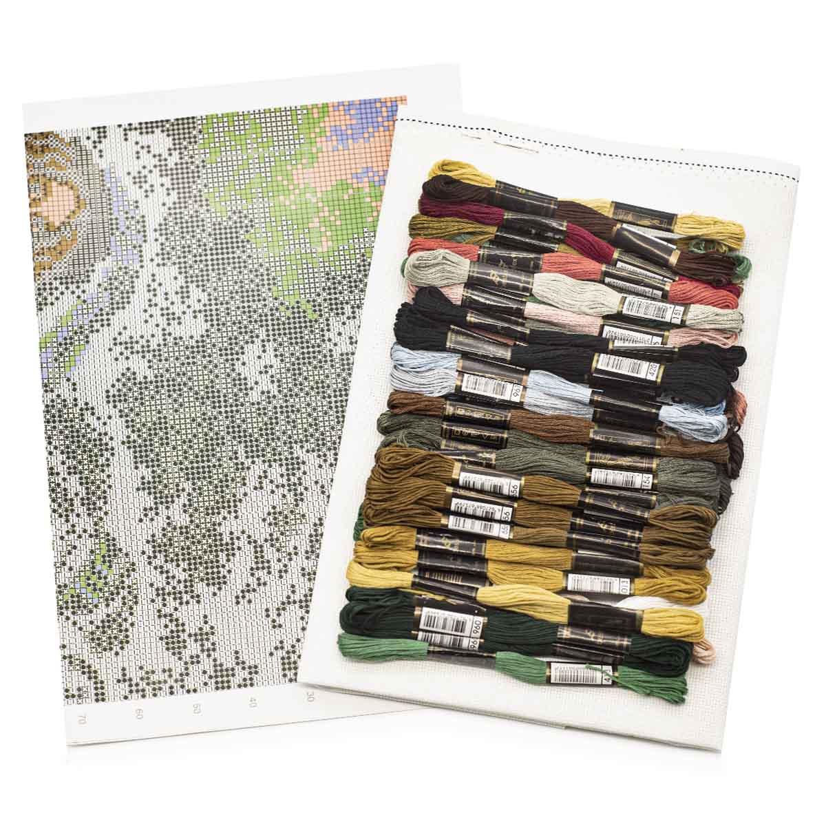 "Набор для вышивания ""Всадница"" 659, 43х31 см, Hobby&Pro"