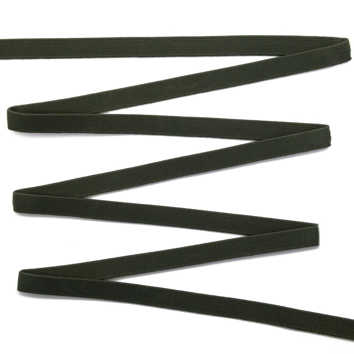 15-4160/9831 Резинка вязаная 10мм*50м оливка