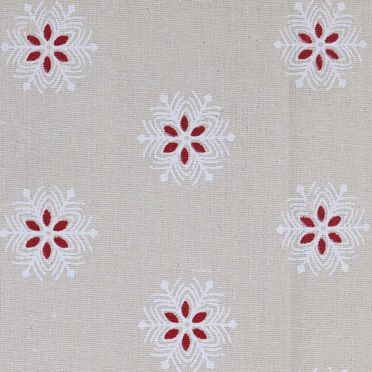 23653 Ткань 'ДЕКОР-3/19' с принтом размер 50*50см (60%лен,40%хлопок)