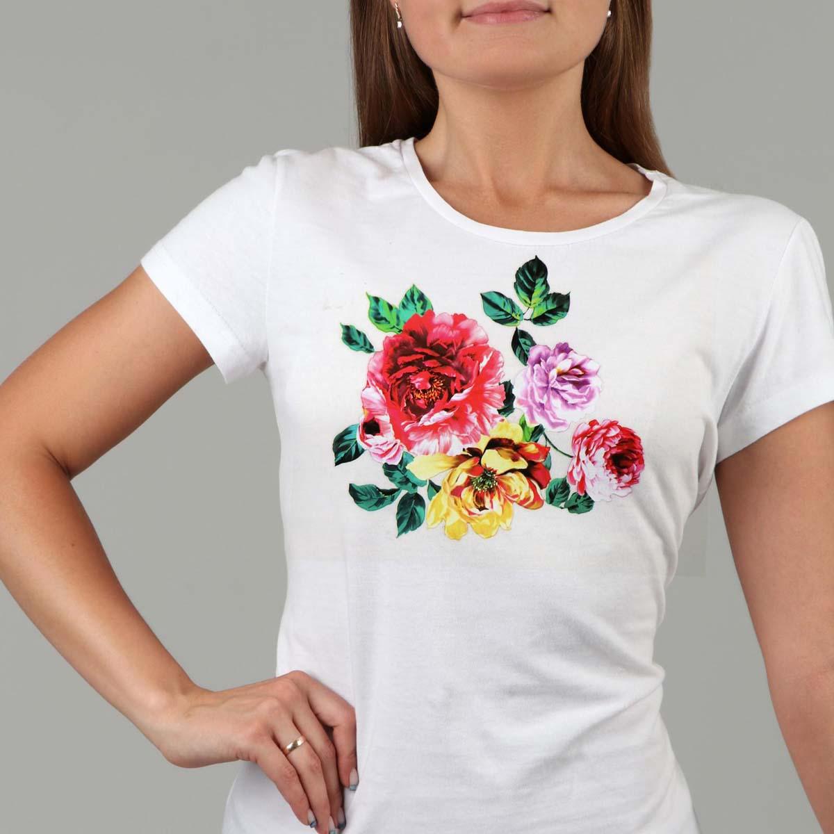 2663388 Термотрансфер цветы 13*20см, упак/5шт