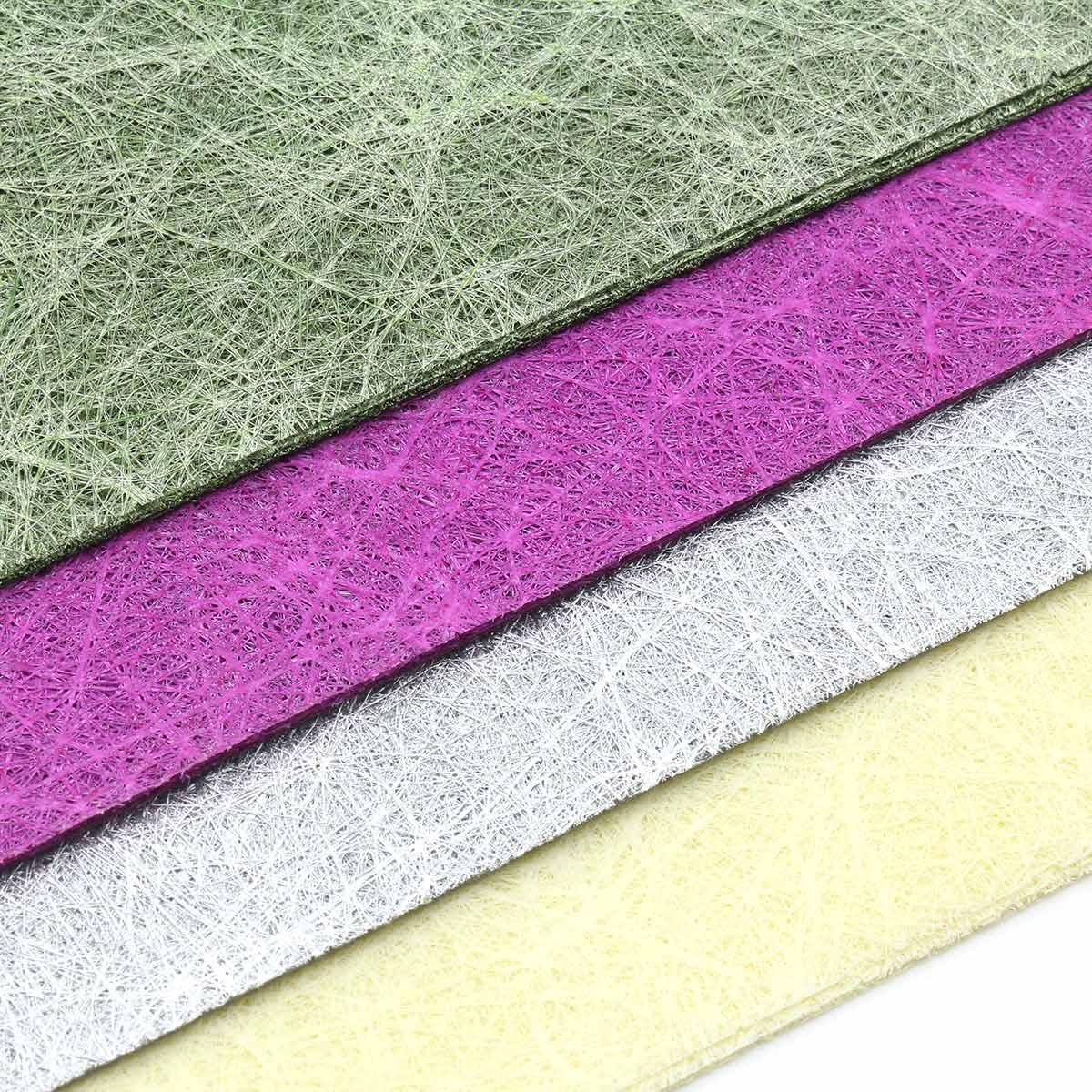 Декоративный нетканный материал для упаковки, рукоделия, флористики (40шт. А4)