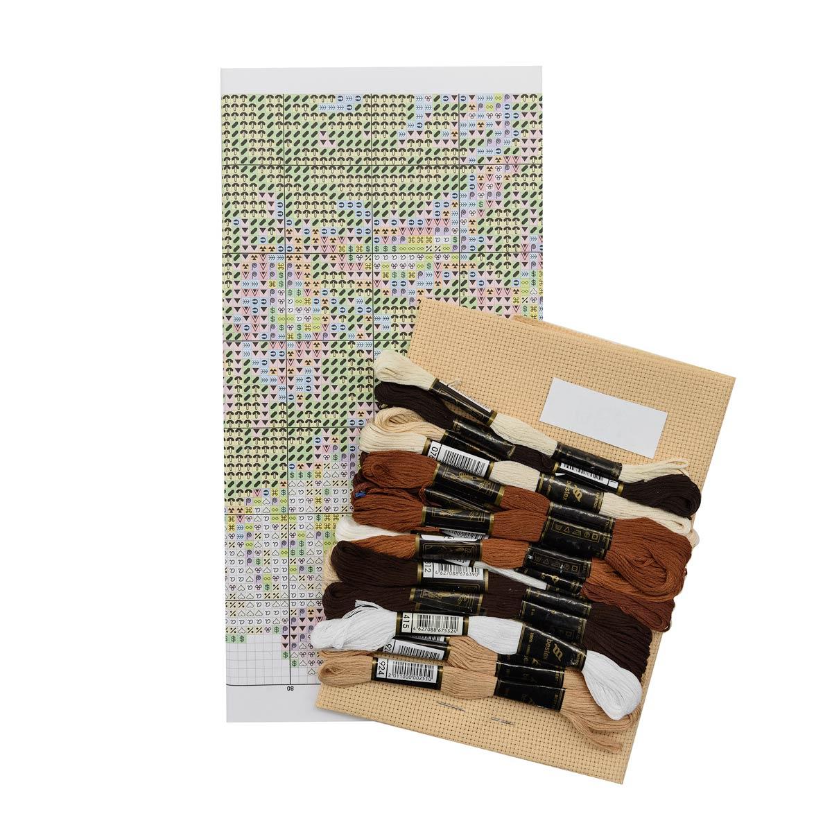"""Набор для вышивания 730 """"Проказник"""", 35х23 см, Hobby&Pro"""