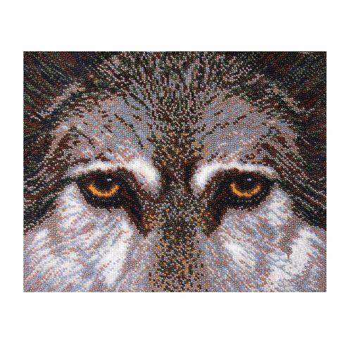 Б-057 Набор для вышивания бисером 'Чарівна Мить' 'Волк', 27*21,5 см