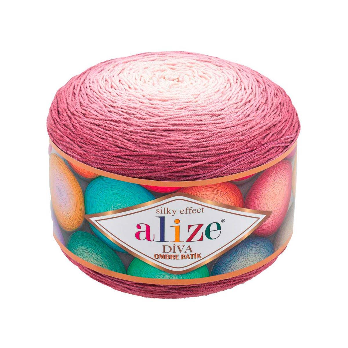 Пряжа Alize 'Diva Ombre Batik' 250г 875м (100% микрофибра акрил)