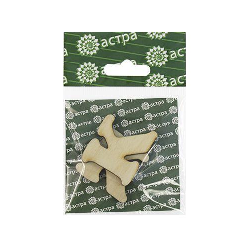 Деревянная заготовка Астра L-240 буквы 3*3,3см.