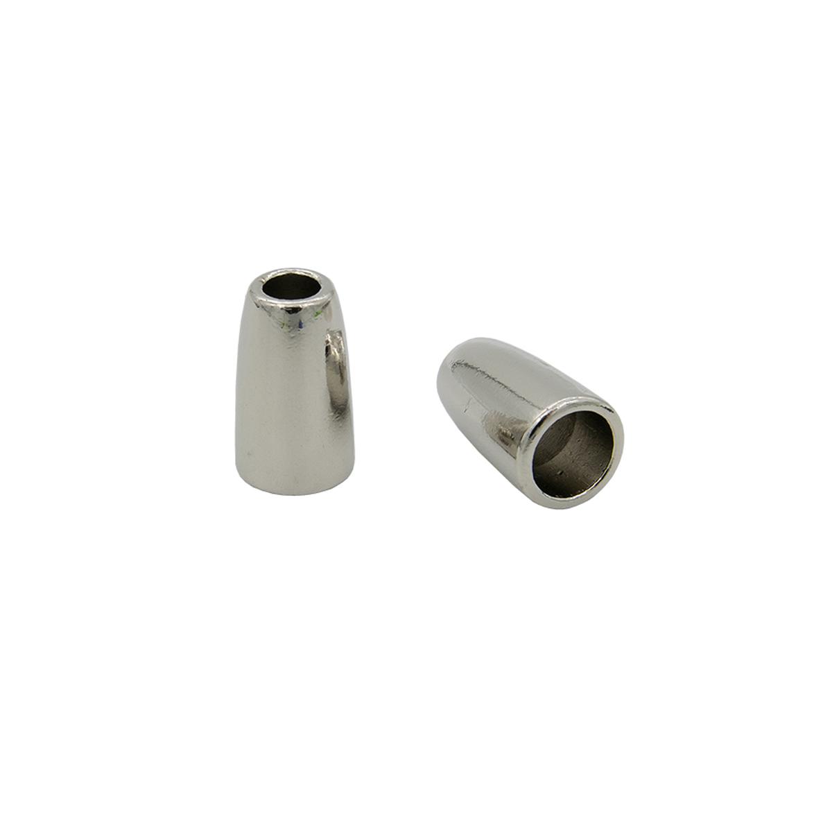 0305-5227 Наконечник 'Колокол' d=3,5/6,5мм, 13,5*8,5мм, 4шт, металл Hobby&Pro