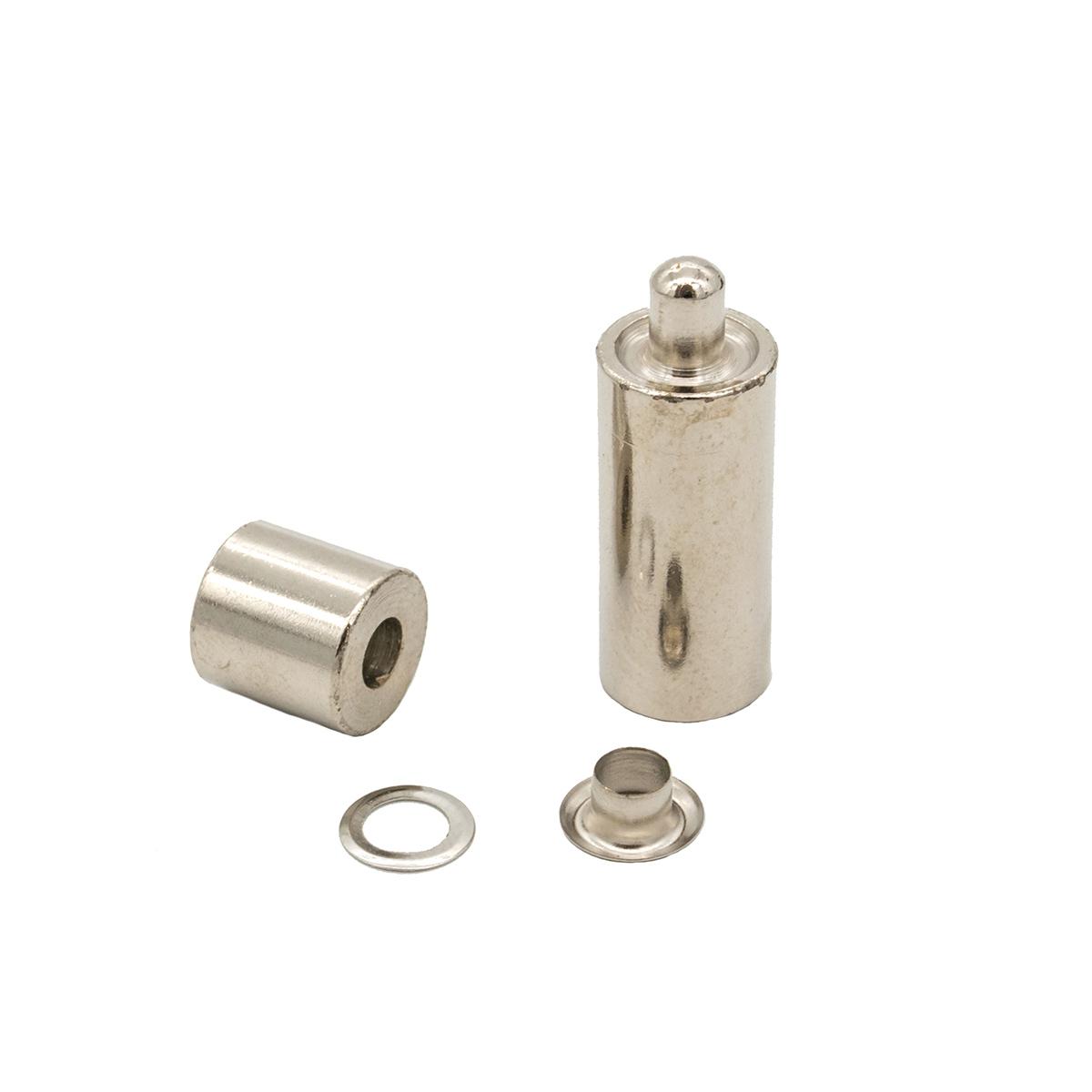 530410 Люверсы с инструментом для установки, никель, d 4 мм, упак./40 компл., Hobby&Pro
