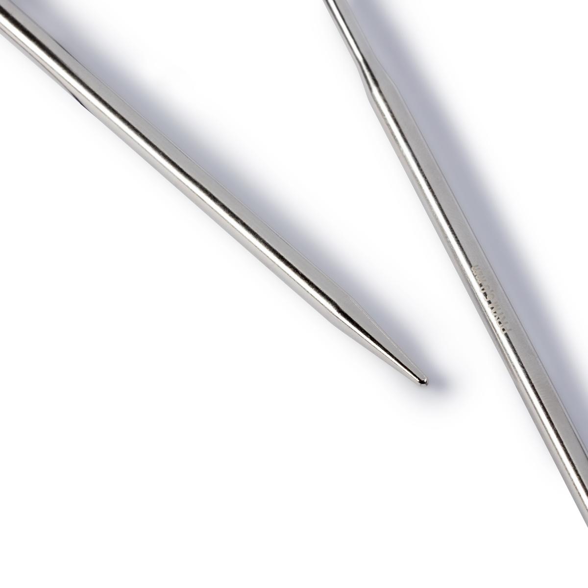 Спицы Prym 212162 круговые 5мм./60см. латунь