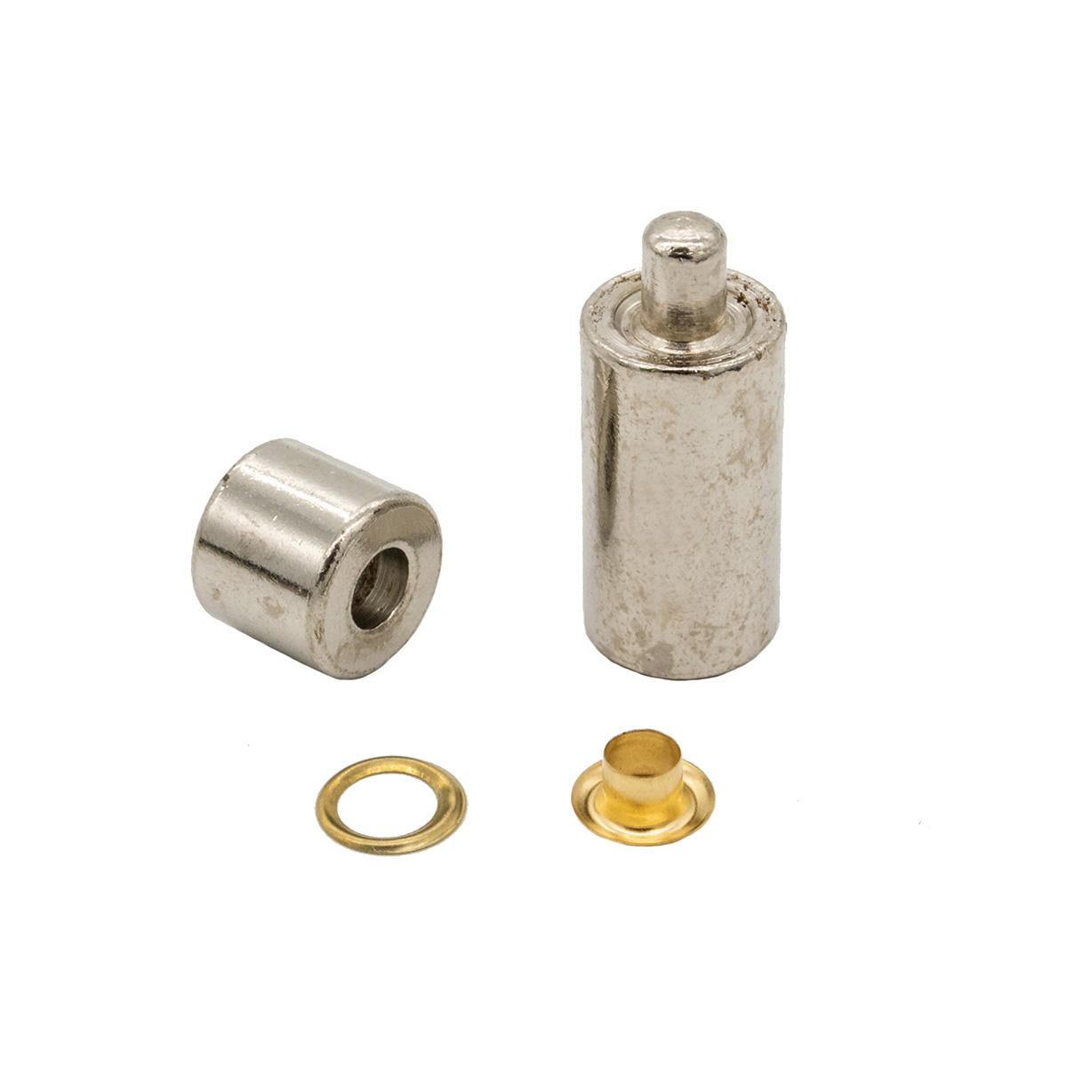 Люверсы с инструм. для устан., 40 компл., д-4 мм, золото 530412, Hobby&Pro