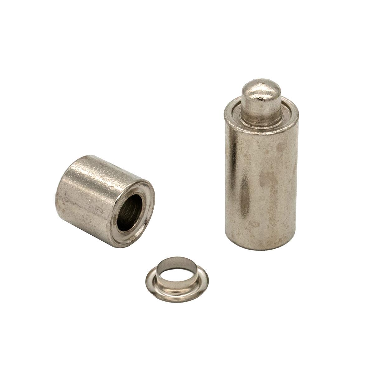 530710 Люверсы с инструментом для установки, никель, d 8 мм, упак./20 компл., Hobby&Pro