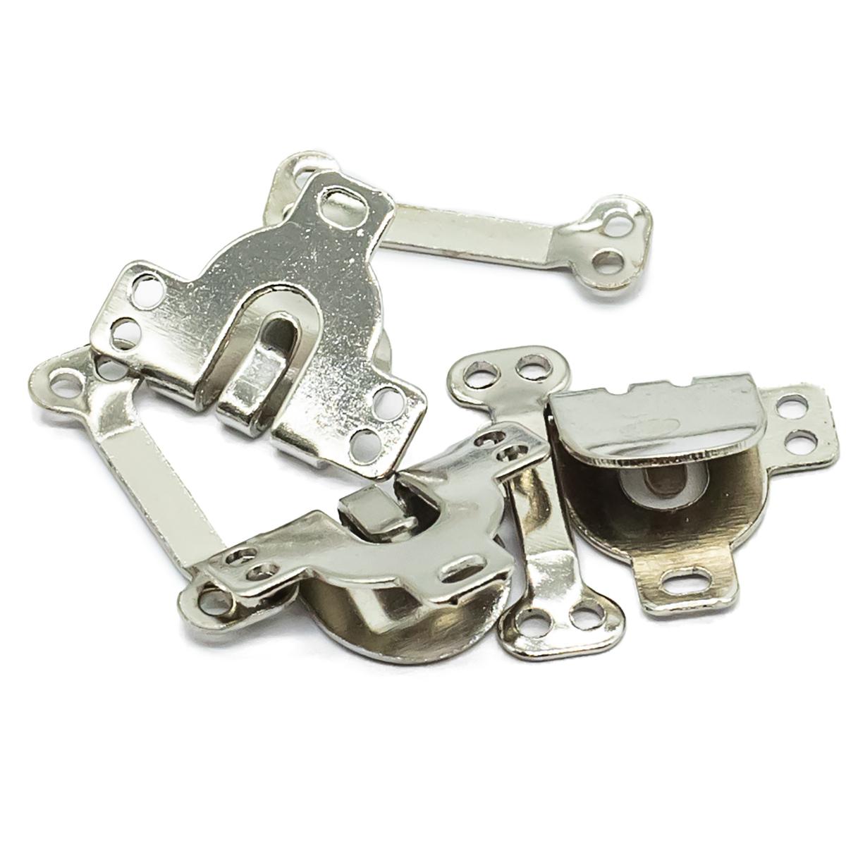 Крючки пришивные, 3 компл., никель, 540311, Hobby&Pro