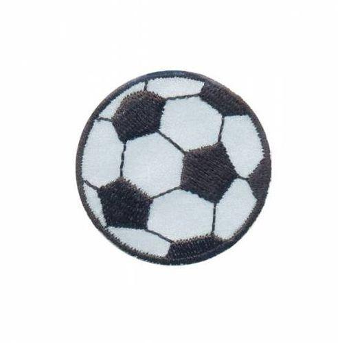 AD1395SV Термоаппликация 'Футбольный мяч', d 4,5 см, Hobby&Pro