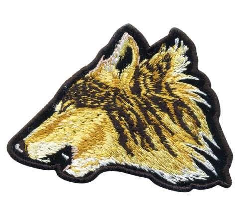 Термоаппликация AD1408 Голова волка Hobby&Pro