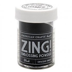 "Пудра для эмбоссинга матовая ""American Crafts"" ZING 28,4г"