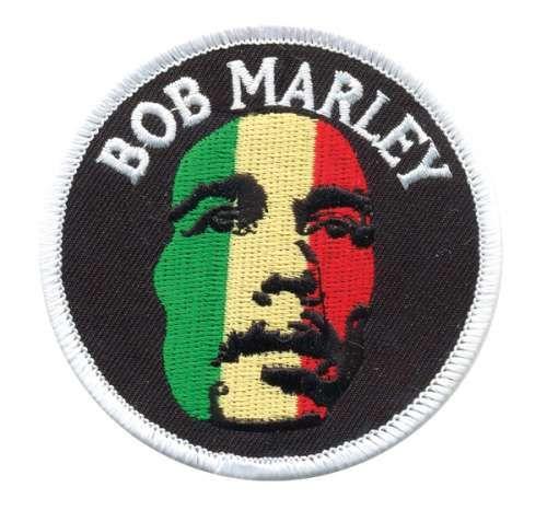 AD1412 Термоаппликация Bob Marley, d 7,8 см, Hobby&Pro