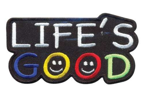 AD1413 Термоаппликация Life s Good, Hobby&Pro