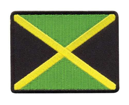 AD1417 Термоаппликация 'Флаг Ямайки', 5,8*7,6 см, Hobby&Pro