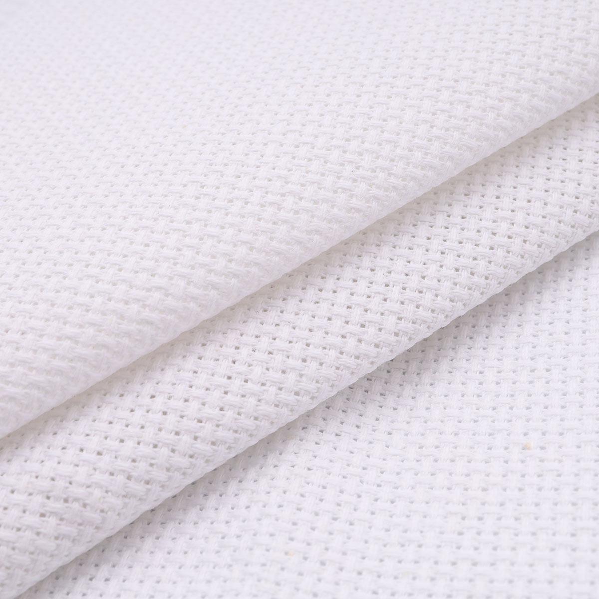 624010 Канва 14C/T, белая, категория B, 150 см*50 м, Bestex