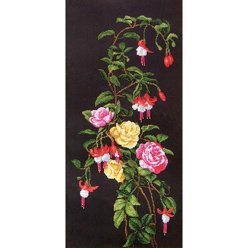 Б-061 Набор для вышивания бисером Чарівна Мить 'Розы' 27*58,5см