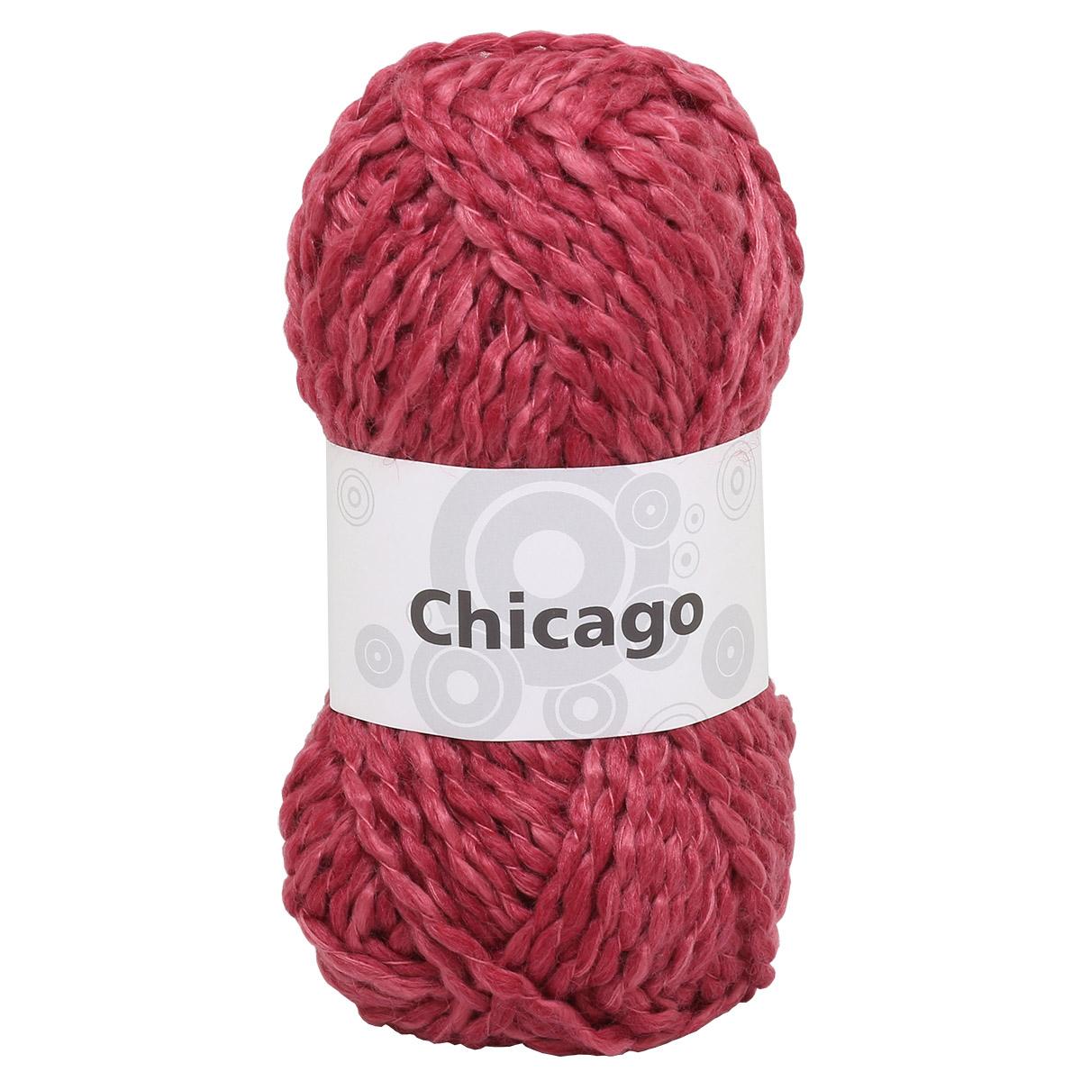 Набор для вязания шарфа 'Chicago' 4*50гр, 4*49м (62% полиакрил, 38% шерсть)