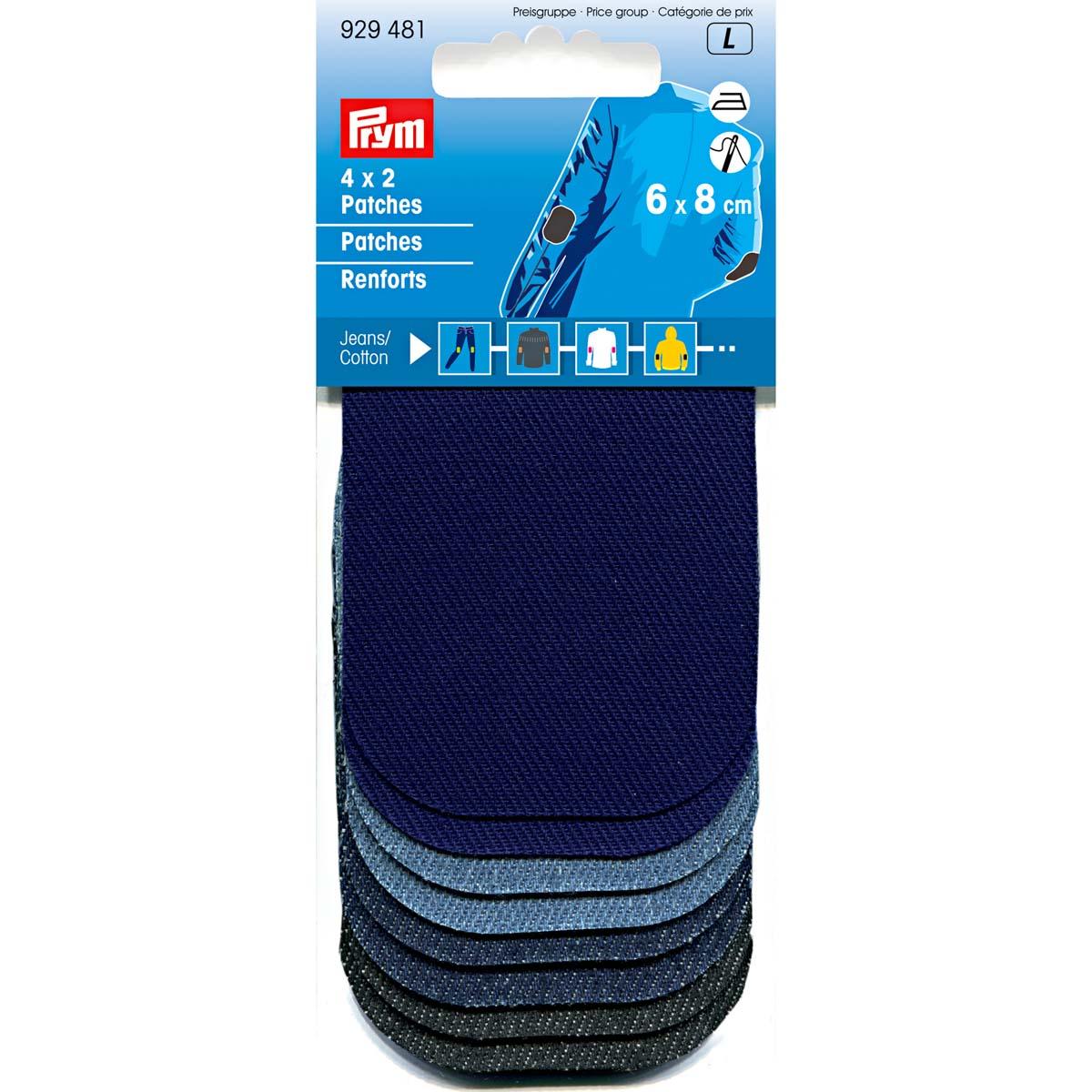 929481 Заплатки Mini джинс, хлопок 8*6см Prym