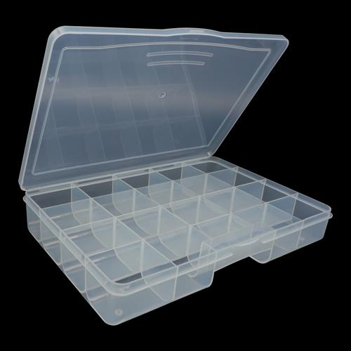 Органайзер для хранения 930521, с 20 отделениями, 26,6х18,4х4,4 см, Hobby&Pro