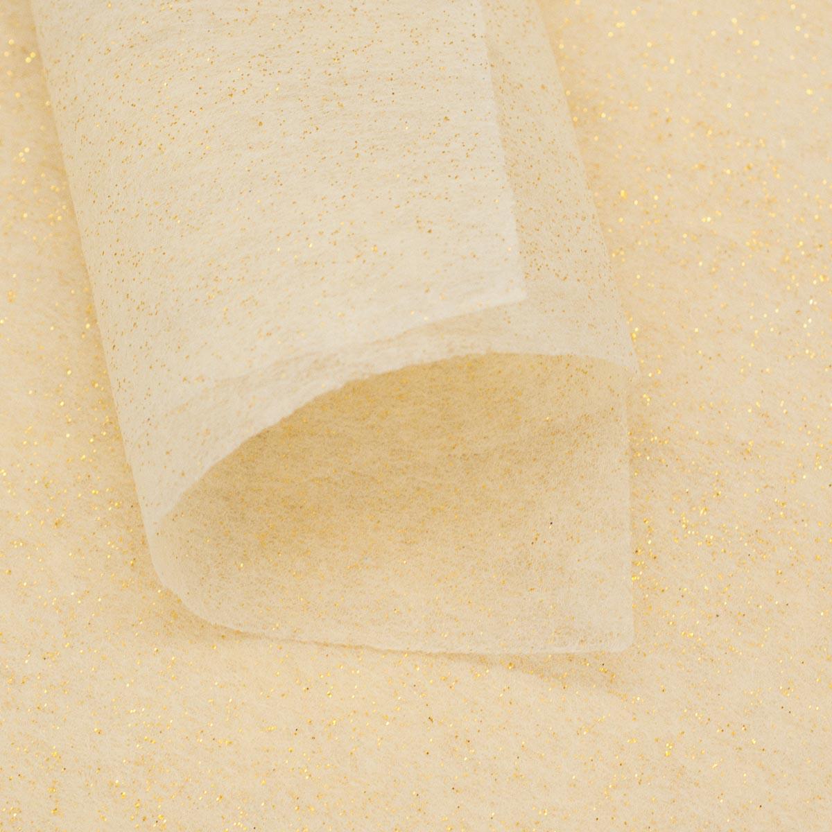 Декоративный нетканный материал для упаковки, рукоделия, флористики A4, 25 гр., 10шт. GN40-30