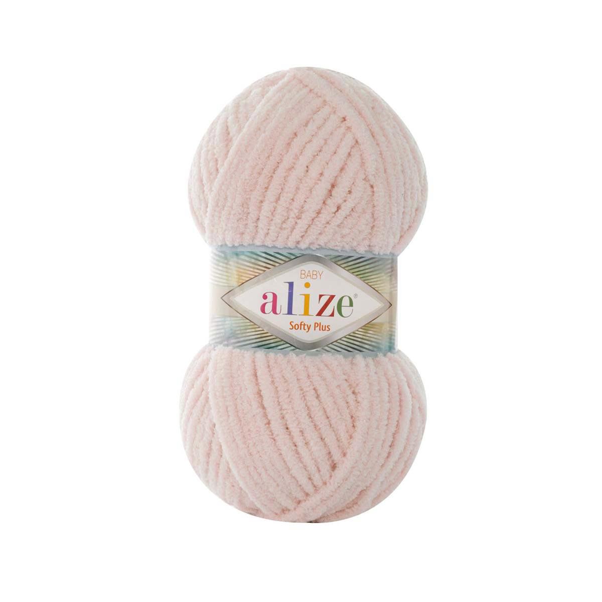 Пряжа Alize 'Softy Plus' 100г 120м (100% микрополиэстер)