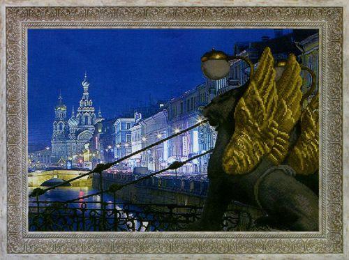 """Схема для вышивания бисером СБ-1022 """"Банковский мост"""", 45х32 см, Hobby&Pro"""
