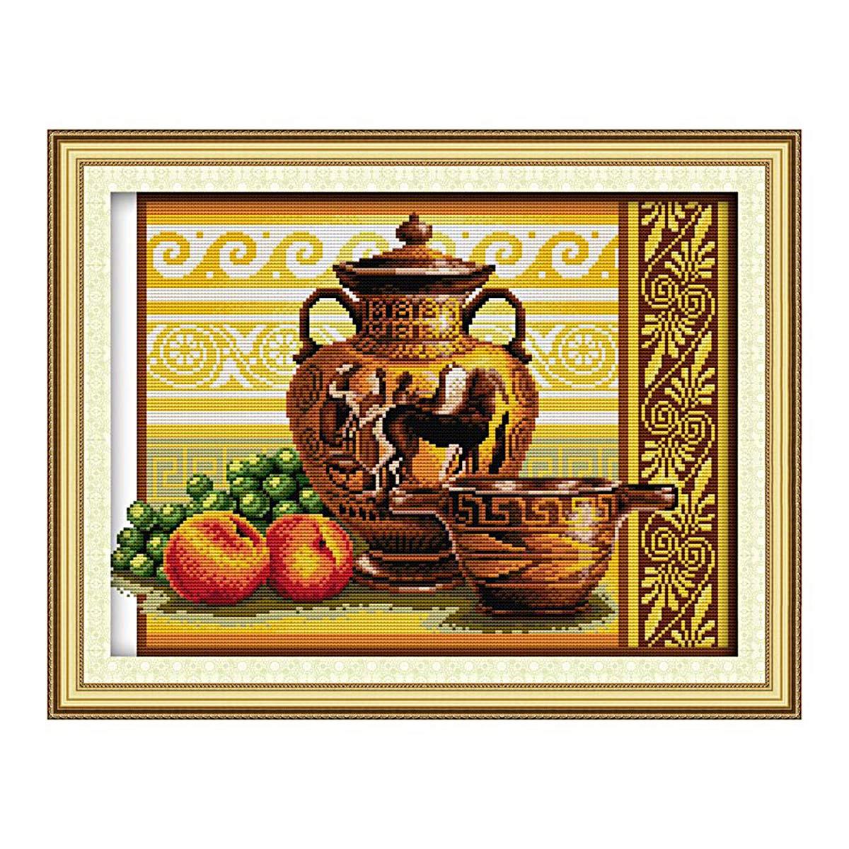 1189 Мозаика Cristal 'Греческий натюрморт', 47*35 см