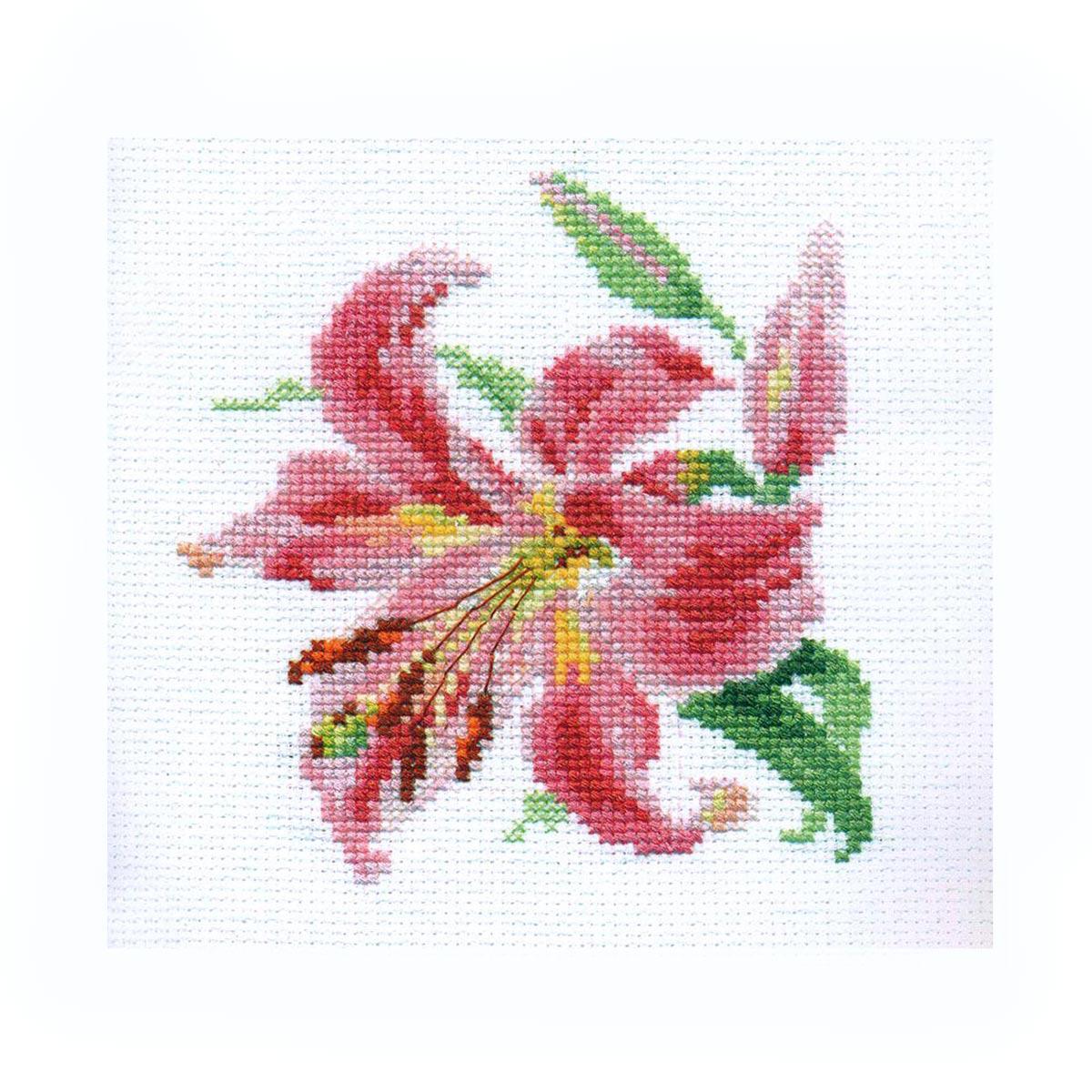 0-118 Набор для вышивания АЛИСА 'Лилия' 11*12см