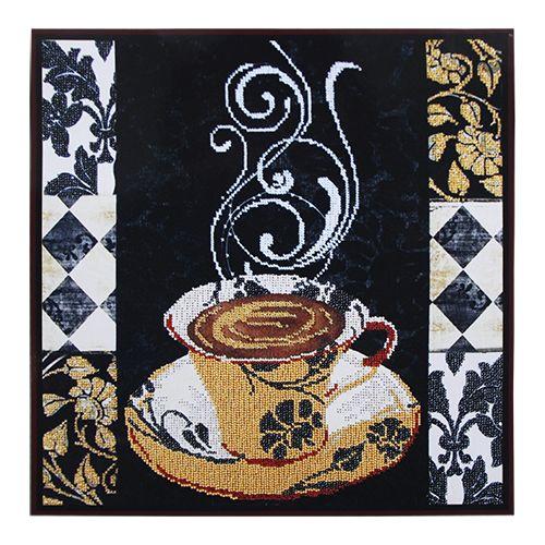 """Набор для вышивания бисером БН-3188 """"Аромат кофе"""", 36х36 см, Hobby&Pro"""