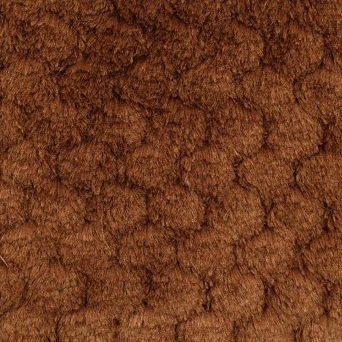 25743 Мех 'Фактурный-СОТЫ' 50см*50см (+/-1,0см), цв.коричневый