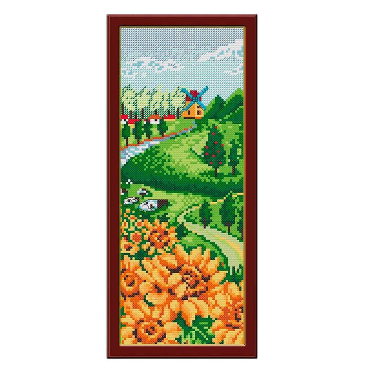 1417 Мозаика Cristal 'Лето', 14*36 см
