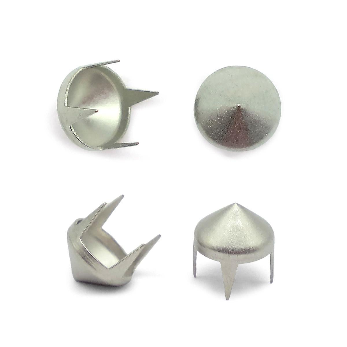 53901 Украшение д-8мм сереб. с шипами ГР