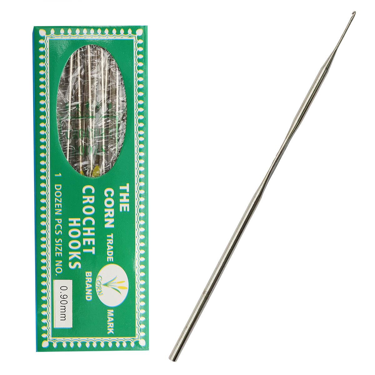0333-6050 Крючок вязальный, 0,9 мм, упак./12 шт.